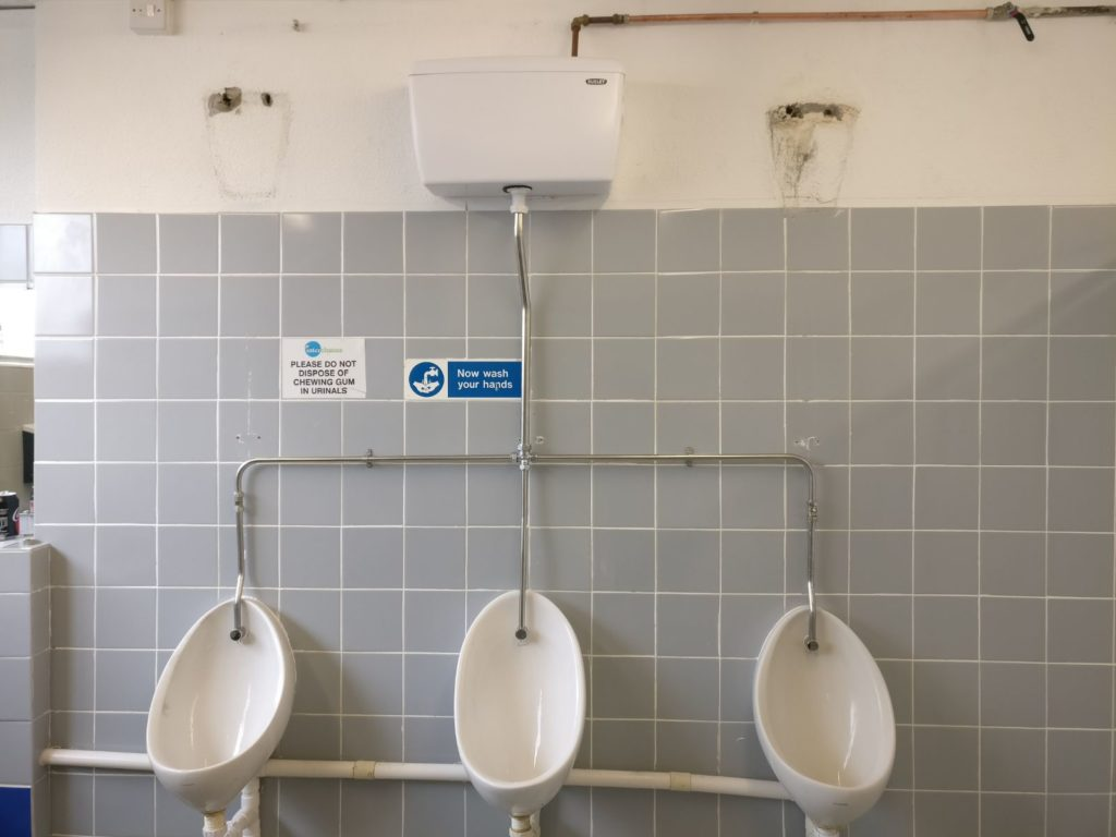 single cistern repair commercial urinals